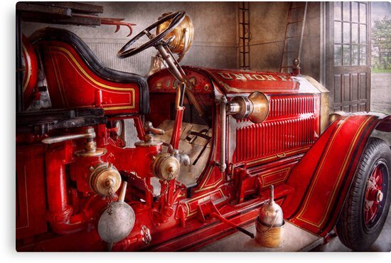 Fireman - Waiting for a call by Michael Savad
