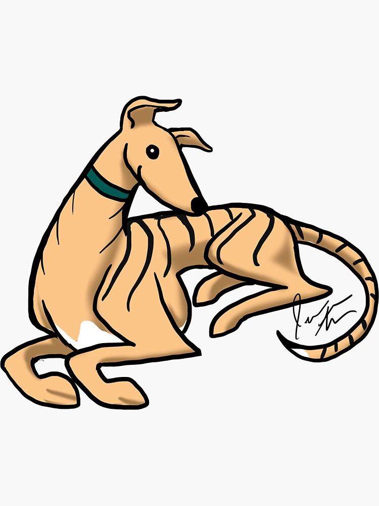 Greyhound Custom - Parker by jameson9101322