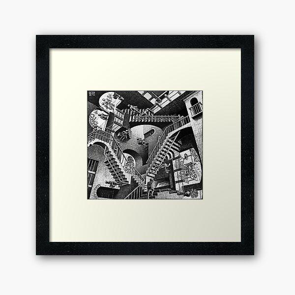 M.C. Escher - Relativity  Framed Art Print