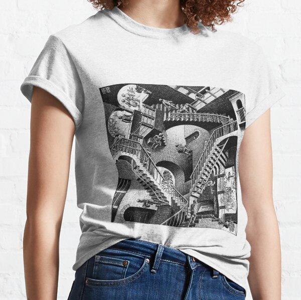 M.C. Escher - Relativity  Classic T-Shirt