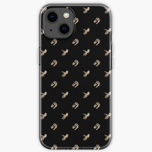 Dinosaur Skulls - The Cretaceous duo (Pattern) iPhone Soft Case