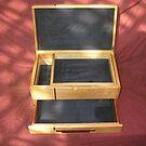 Silver Ash Jewellery Box by Brian Cox