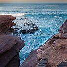 The Gap - Eagle Gorge - Kalbarri by John Pitman