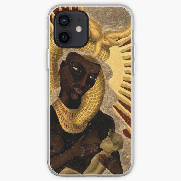 Goddess Isis and Horus iPhone Soft Case