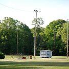 Football Yard by Barry Elkins