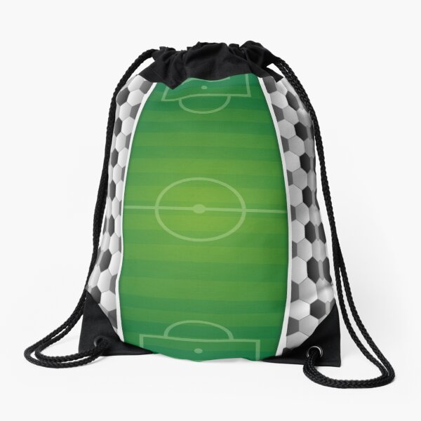 leo • theo | Soccer stadium Drawstring Bag