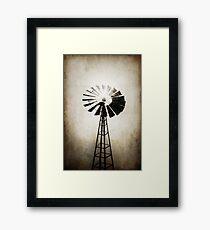 Solo Mill Framed Print