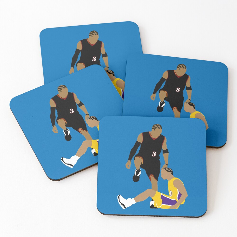 Allen Iverson Stepover Coasters (Set of 4)