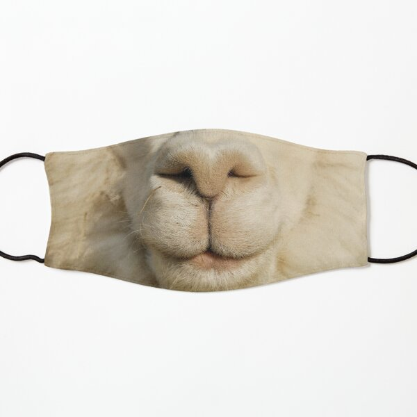 Funny Alpaca Face  Kids Mask