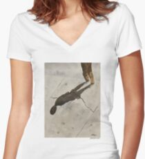 Shadow Women's Fitted V-Neck T-Shirt