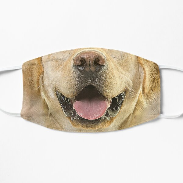 Labrador Retriever Dog Lover 3D Flat Mask