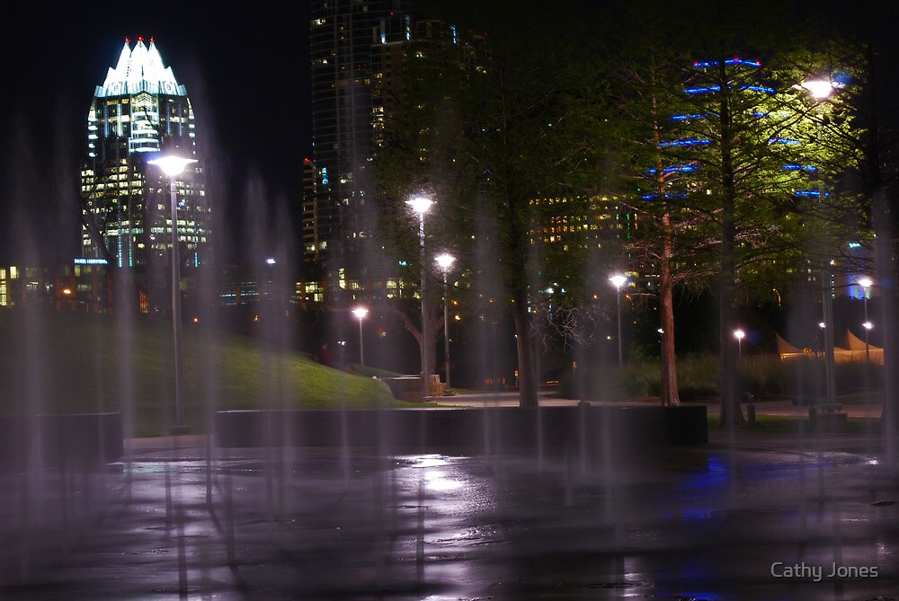 Austin at Night by Cathy Jones