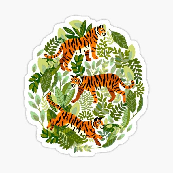 Bangel Tiger Jungle  Sticker