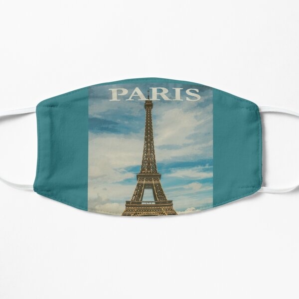 Paris - Travel Vintage Poster Mask