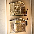 Antique Mailboxes by Brenda  Meeks