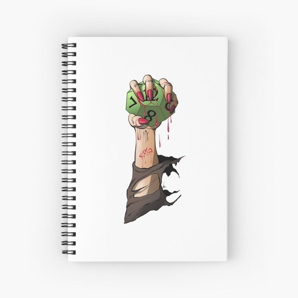 RPG Vampire Spiral Notebook