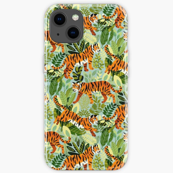 Bright Bangel Tiger Jungle  iPhone Soft Case