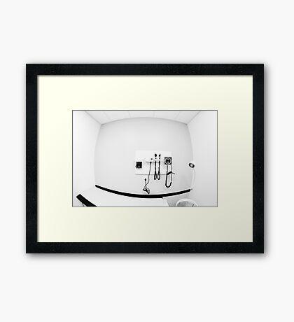 STERILE. Framed Print