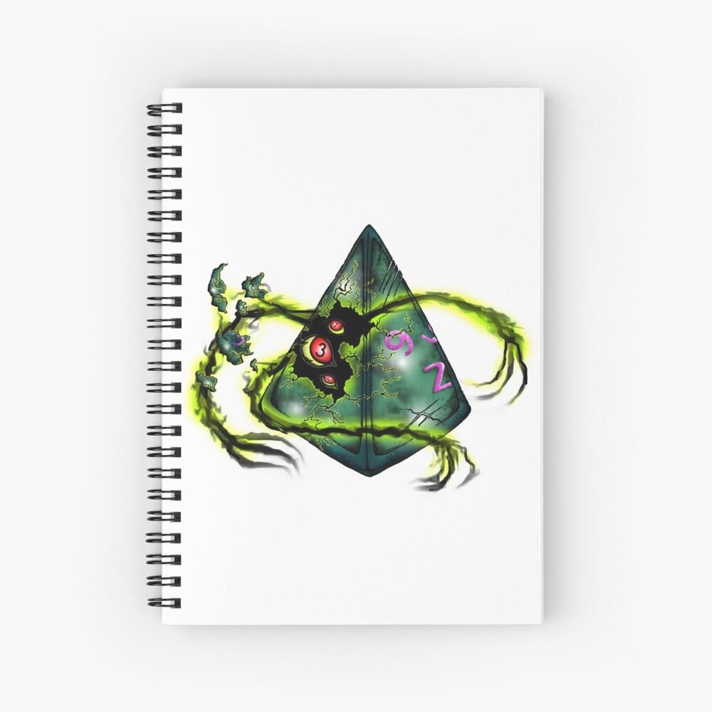 Elder Dice Spiral Notebook