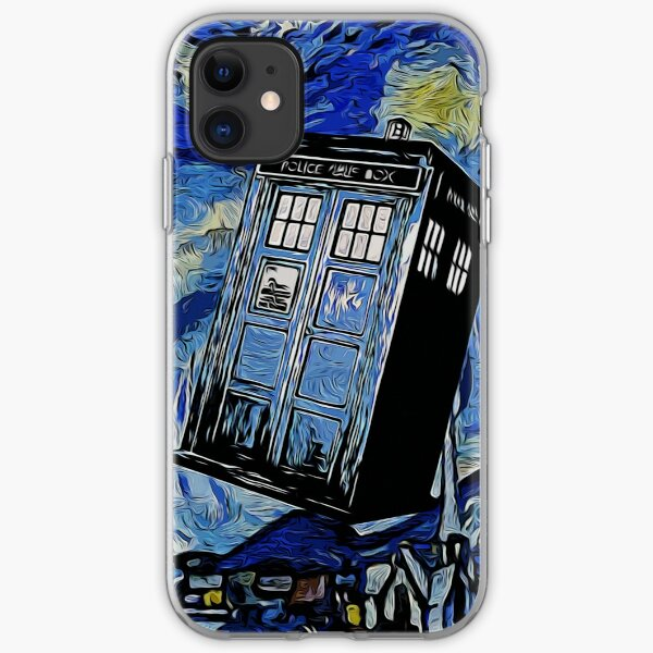 Van in time iPhone Soft Case