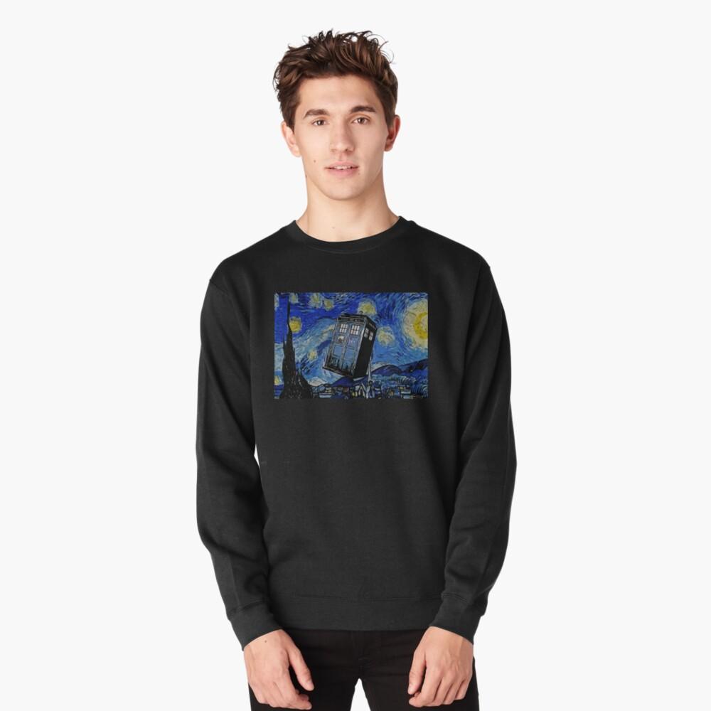 Van in time Pullover Sweatshirt