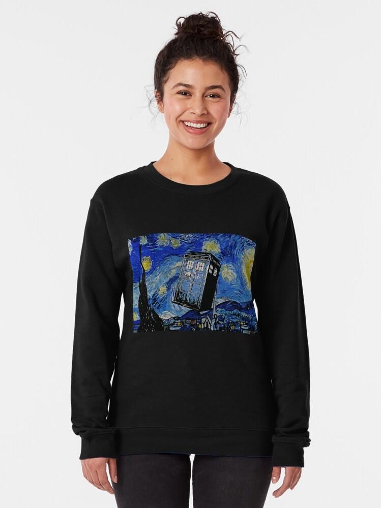 Alternate view of Van in time Pullover Sweatshirt