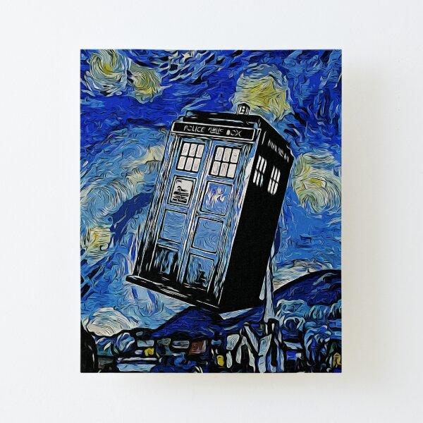 Van in Time Lámina montada de lienzo