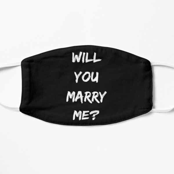 Will you Marry Me? Marriage proposal  Mask