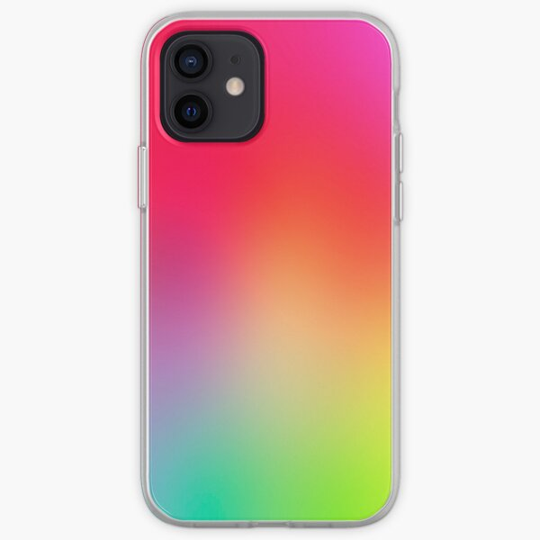 Fluorescent Neon Colors iPhone Soft Case