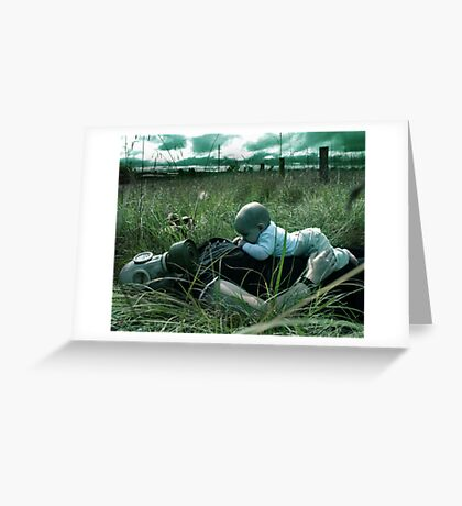 Silent Breath Greeting Card