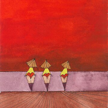 Three Ladies by ekabillo