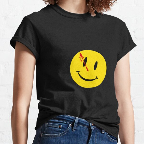 Watchmen smiley Classic T-Shirt