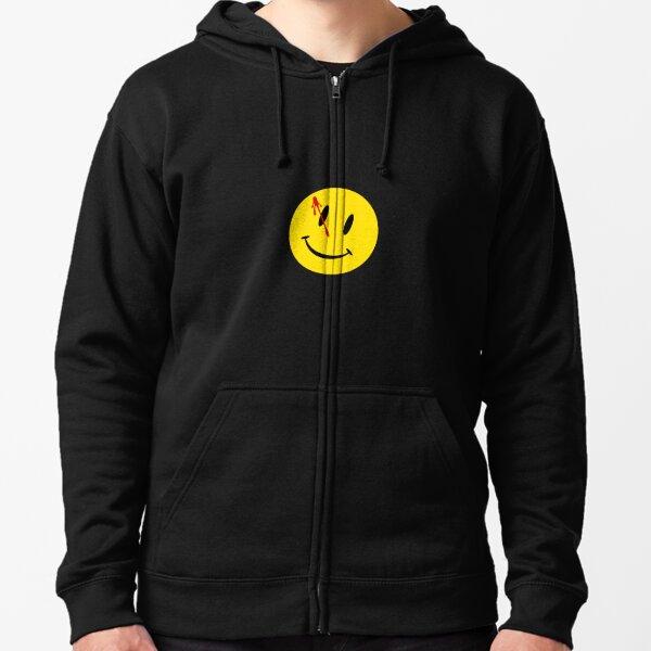Watchmen smiley Zipped Hoodie
