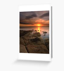 """And Then There Was Silence"" ∞ Coles Bay, Tasmania - Australia Greeting Card"