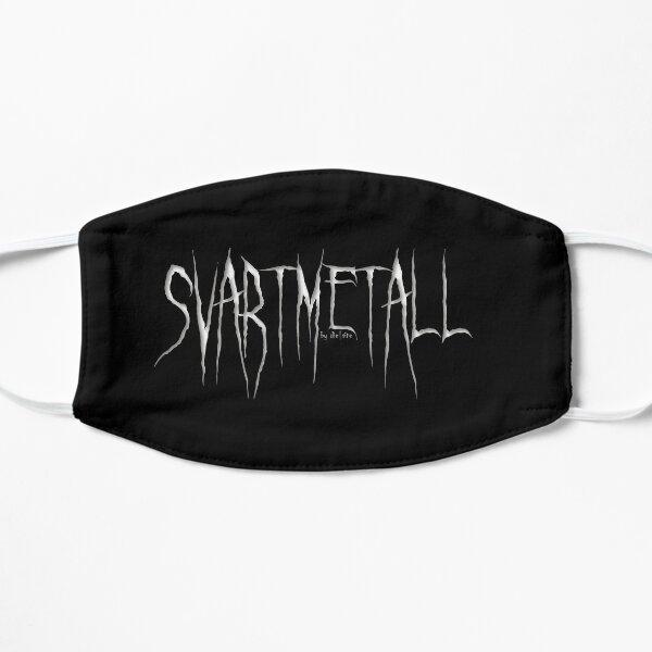 SVARTMETALL by die|site Flache Maske