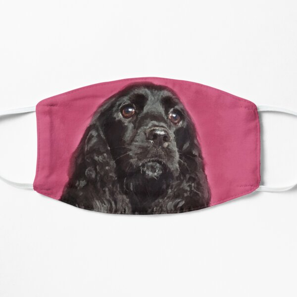 English Cocker Spaniel Dog Digital Art Mask