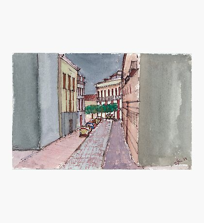 A Street in Seville Photographic Print