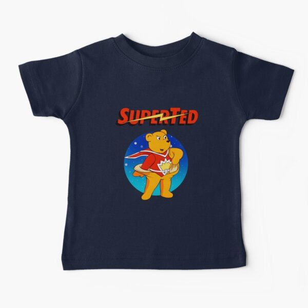 Superted the retro teddy bear Baby T-Shirt