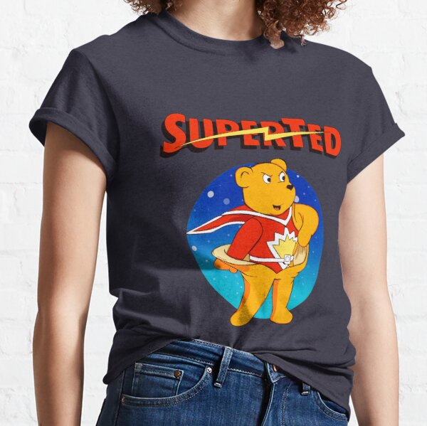Superted the retro teddy bear Classic T-Shirt