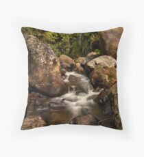 Kaiate Boulders Throw Pillow