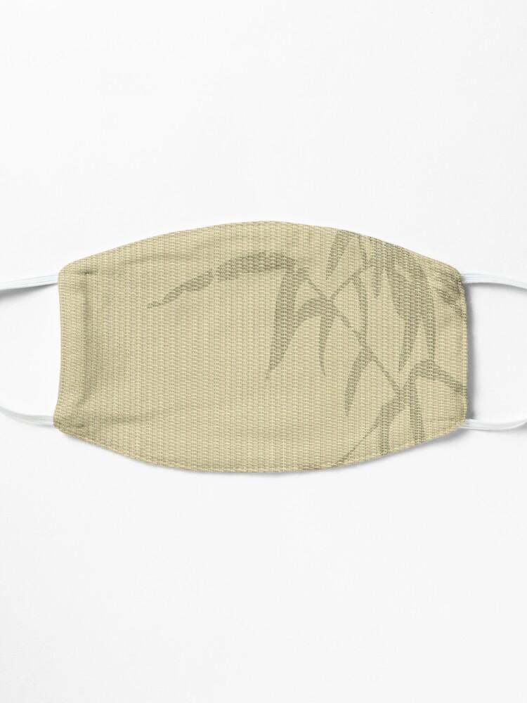 Alternate view of Tatami - bamboo Mask