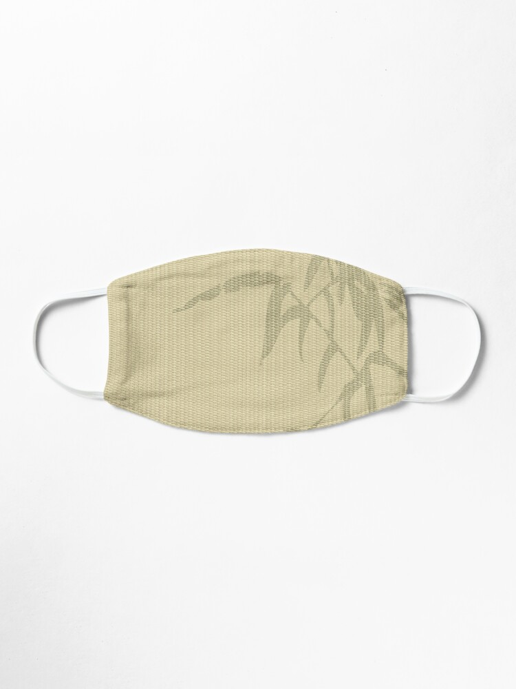 Alternate view of Tatami - bamboo Mask
