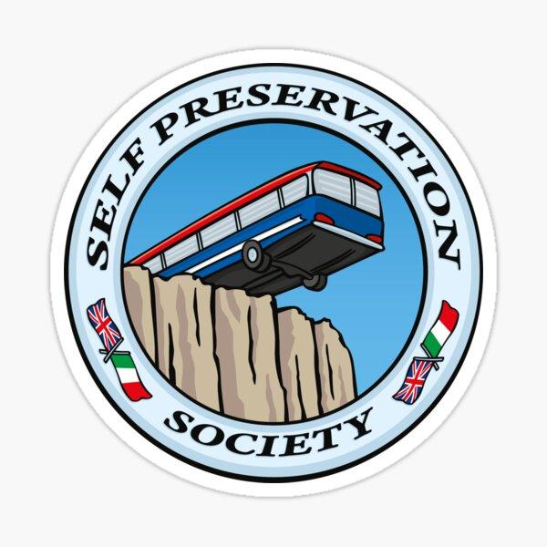 Self Preservation Society Sticker