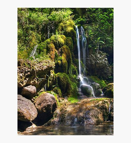 Petite Waterfall Photographic Print
