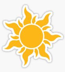 Tangled Kingdom Sun Sticker