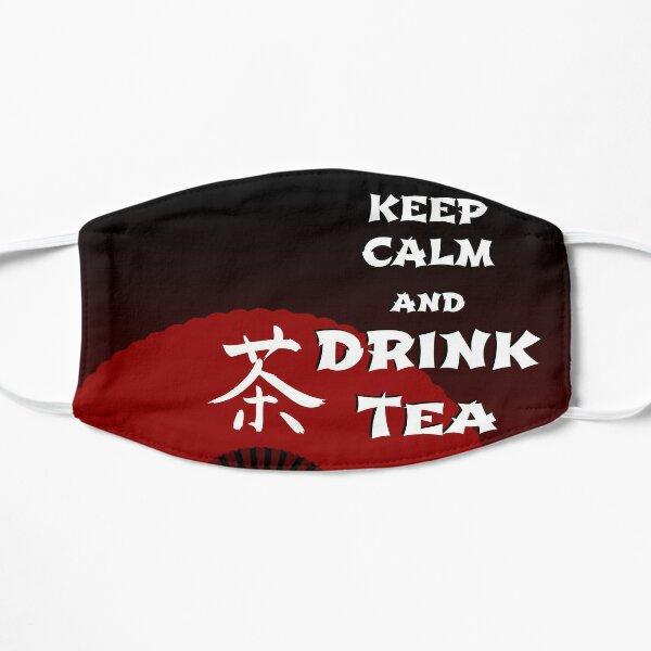 Keep Calm and Drink Tea - dark asia edition Mask