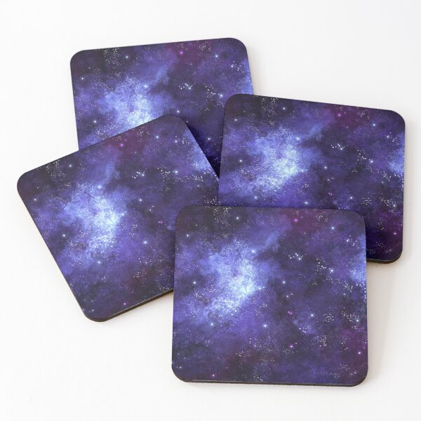 Space Theme Coasters (Set of 4)