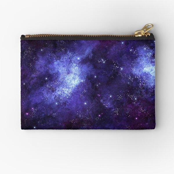 Space Theme Zipper Pouch