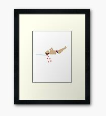 Olympic Infamy - diving Framed Print