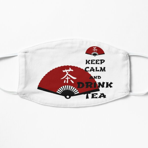 keep calm and drink tea - asia edition Mask